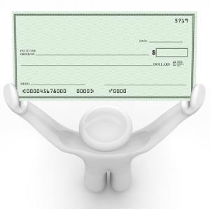 picture of a check
