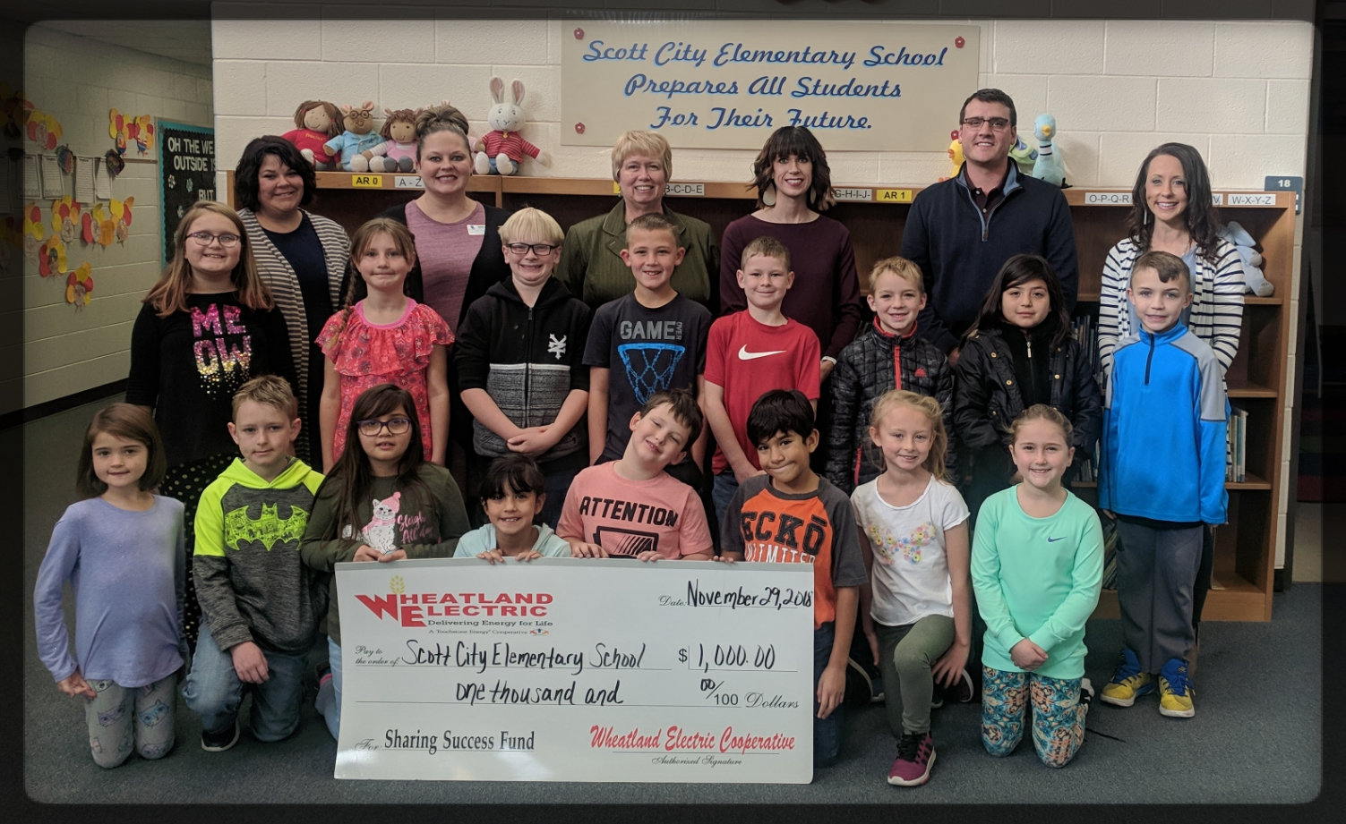 Scott City Elementary School Sharing Success Grant Presentation